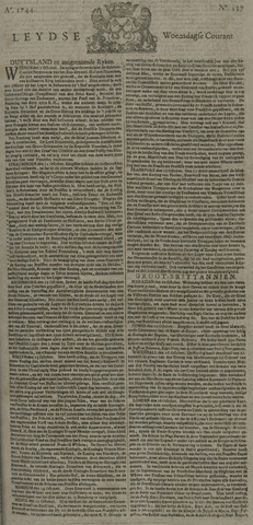 Leydse Courant 1744-10-21