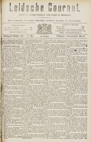 Leydse Courant 1889-10-25