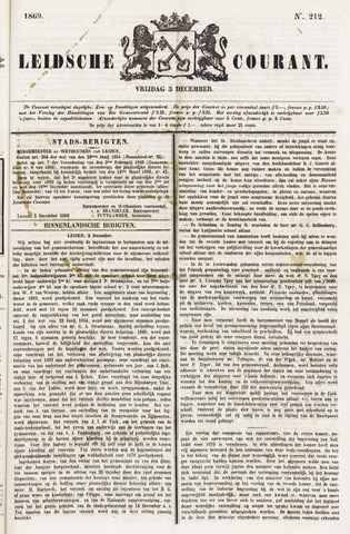 Leydse Courant 1869-12-03