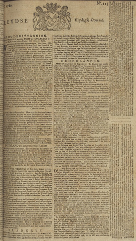Leydse Courant 1760-09-19