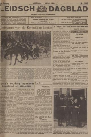Leidsch Dagblad 1940-01-25