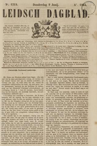 Leidsch Dagblad 1864-06-09