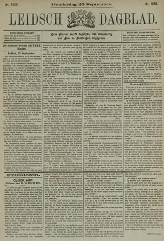 Leidsch Dagblad 1890-09-25