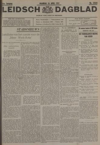 Leidsch Dagblad 1937-04-26
