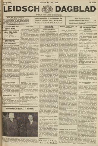 Leidsch Dagblad 1932-04-12