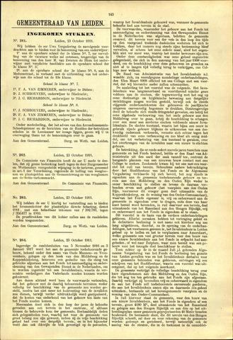 Handelingen van de Raad 1911-10-23