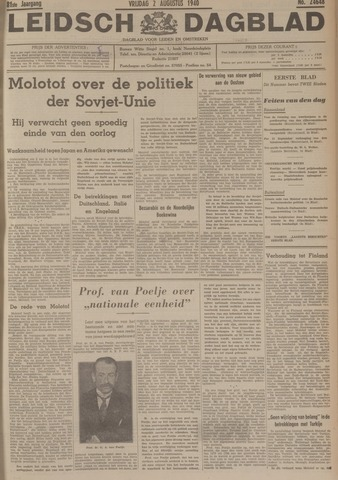Leidsch Dagblad 1940-08-02
