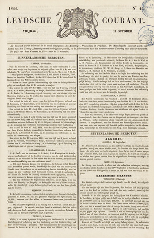 Leydse Courant 1844-10-11