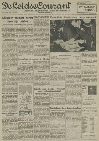 Leidse Courant 1954-11-05
