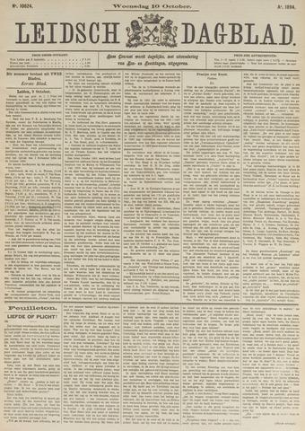 Leidsch Dagblad 1894-10-10