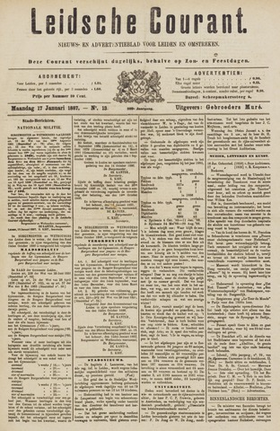 Leydse Courant 1887-01-17