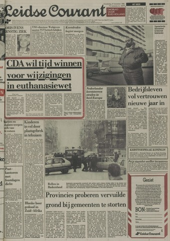 Leidse Courant 1985-12-19