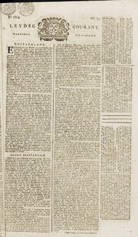 Leydse Courant 1814-01-26