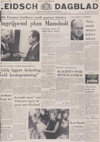 Leidsch Dagblad 1968-12-10