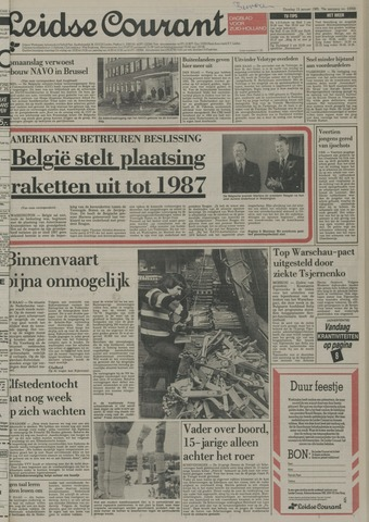 Leidse Courant 1985-01-15