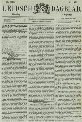 Leidsch Dagblad 1876-08-21