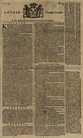 Leydse Courant 1779-03-19