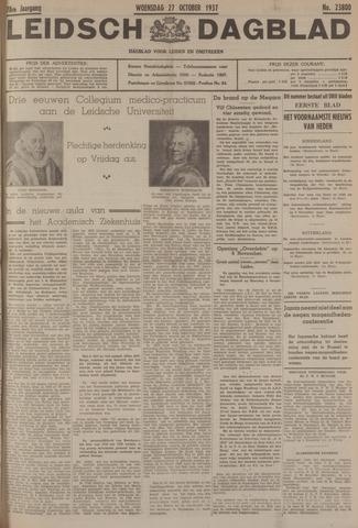 Leidsch Dagblad 1937-10-27