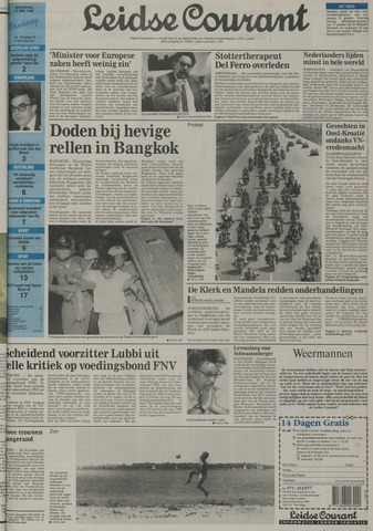 Leidse Courant 1992-05-18
