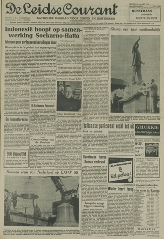 Leidse Courant 1958-03-07