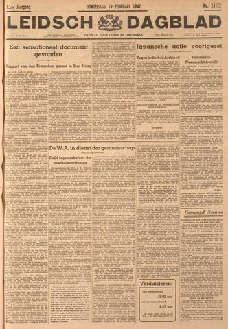 Leidsch Dagblad 1942-02-19