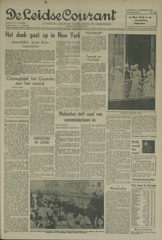 Leidse Courant 1960-09-21