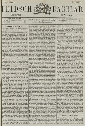 Leidsch Dagblad 1873-11-13