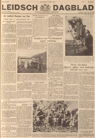 Leidsch Dagblad 1949-04-25