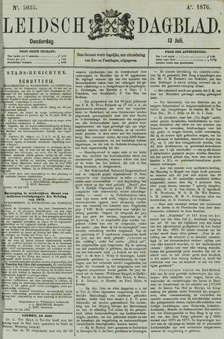 Leidsch Dagblad 1876-07-13