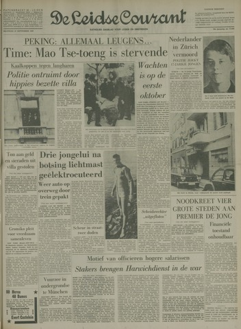 Leidse Courant 1969-09-22