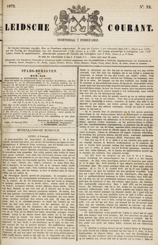 Leydse Courant 1872-02-07
