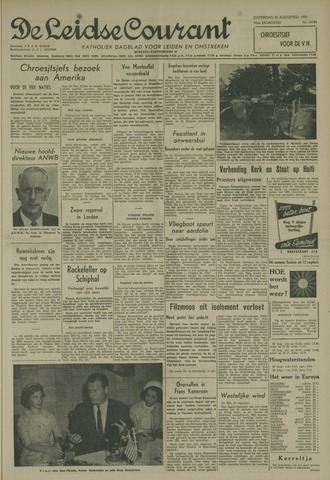 Leidse Courant 1959-08-22