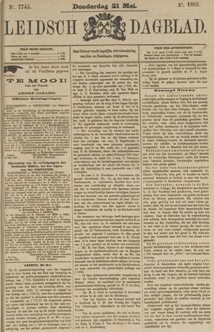 Leidsch Dagblad 1885-05-21