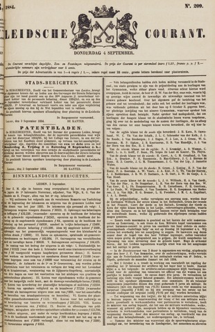 Leydse Courant 1884-09-04