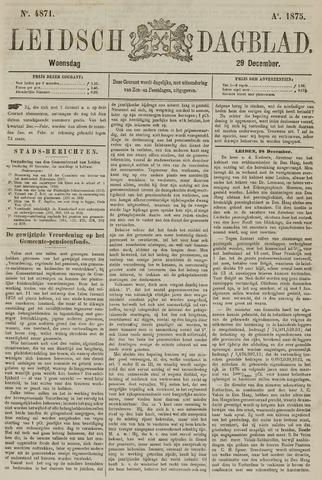 Leidsch Dagblad 1875-12-29