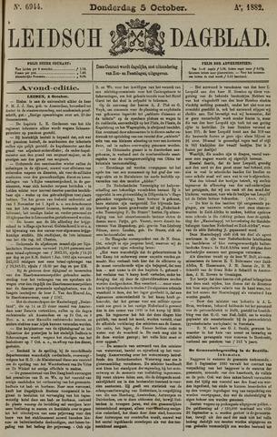 Leidsch Dagblad 1882-10-05