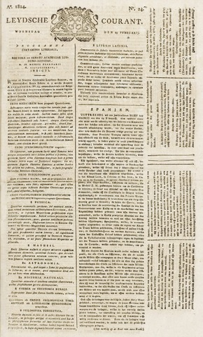 Leydse Courant 1824-02-25