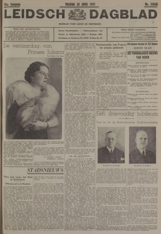 Leidsch Dagblad 1937-04-30