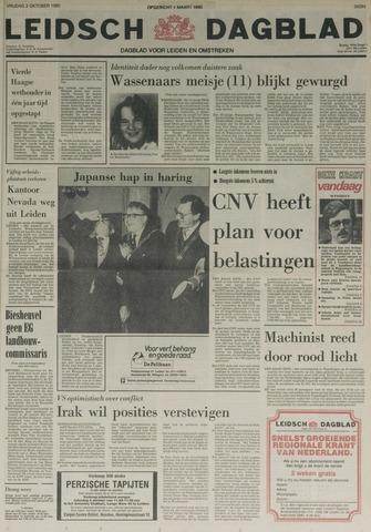 Leidsch Dagblad 1980-10-03