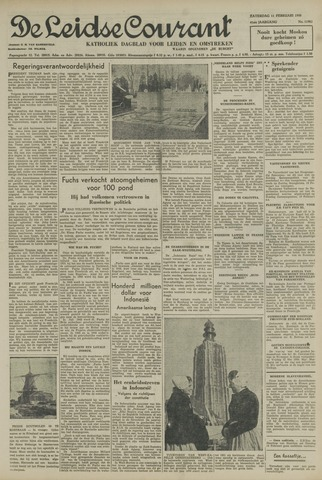 Leidse Courant 1950-02-11