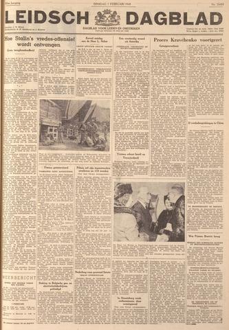 Leidsch Dagblad 1949-02-01