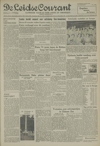 Leidse Courant 1954-07-28