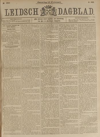 Leidsch Dagblad 1902-02-15