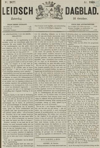 Leidsch Dagblad 1868-10-31