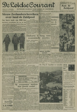Leidse Courant 1958-01-04