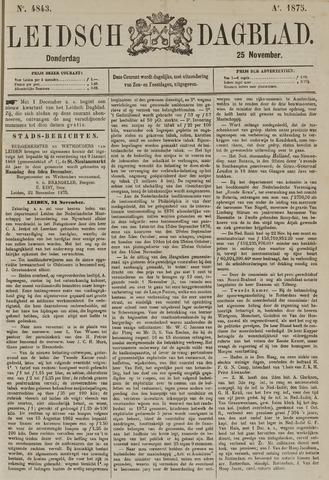 Leidsch Dagblad 1875-11-25