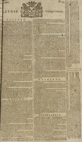 Leydse Courant 1771-08-09
