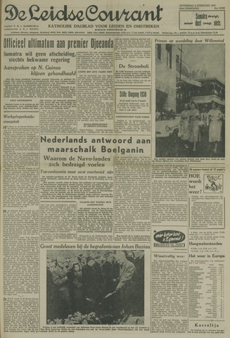 Leidse Courant 1958-02-08