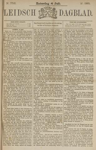 Leidsch Dagblad 1885-07-04