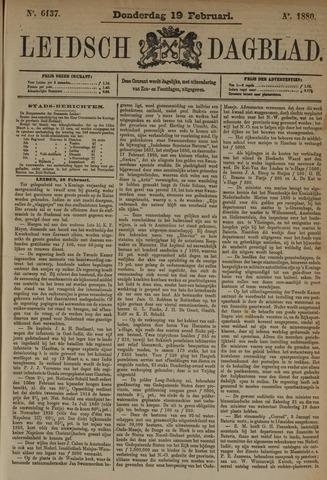 Leidsch Dagblad 1880-02-19